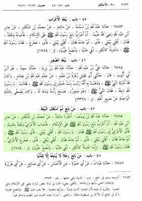 Apostasie-Boukhari-Hadith